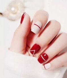 네일아트 / red nails , 빨간색 네일아트