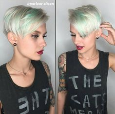 Cute Short Hairstyle and Color - Short Haircuts for Fine Hair