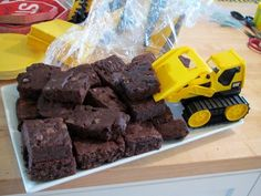 Brownies #construction Party