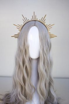 Look Boho, Halloween Disfraces, Headdress, Halo, Wedding Hairstyles, Ideias Fashion, Jewelery, Hair Accessories, My Style
