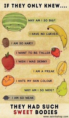 Positive body image - the fruit way!