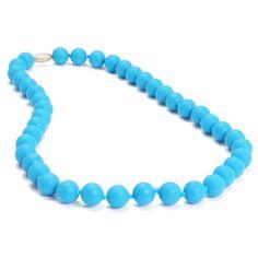 Jane Chewbeads Teething Necklace - Deep Sea Blue