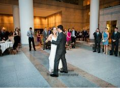 Upper Atrium Wedding at The City Club!