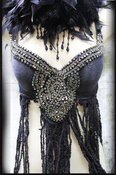 Tribal Bra  for a beautiful goddess by AlalNinaDesign