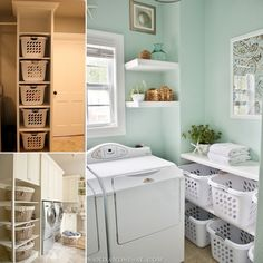 15 Clever Updates to Boost Your Laundry Room's Storage - http://www.amazinginteriordesign.com/15-clever-updates-to-boost-your-laundry-rooms-storage/