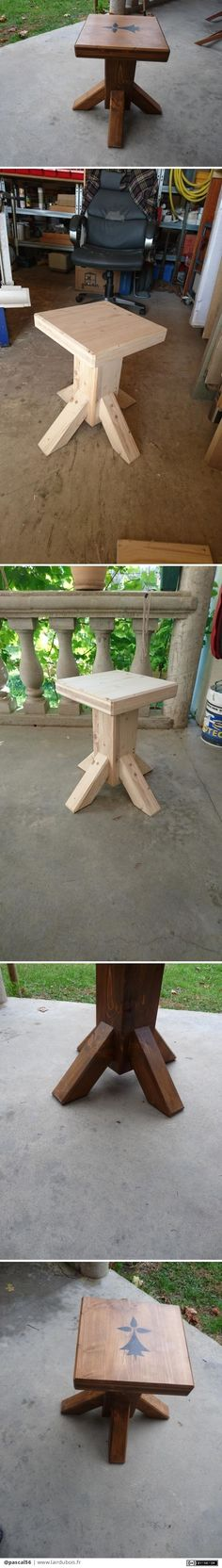 Nice little outside table to make