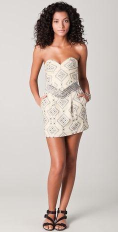Parker Aztec dress