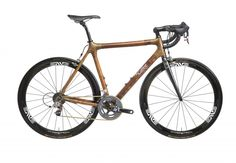 A bamboo frame.....yes, you heard right....bamboo! Love it.
