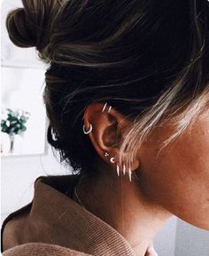 Latest ear holes for women beautiful and sweet ideas, piercings . Model Art 2019 Trendo - diy best tattoo ideas - Latest pierced ears for women beautiful and sweet ideas Piercings Model Art 2019 Trendo - Ear Peircings, Cute Ear Piercings, Body Piercings, Multiple Ear Piercings, Ear Piercing For Women, Unusual Piercings, Different Ear Piercings, Female Piercings, Ear Piercings
