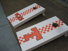 The online community for Cornhole enthusiasts. Chat with other Cornhole Players in the forums. Learn how to build cornhole boards, get painting tips, ask questions about cornhole rules, or find the best cornhol retailers in our buy and sell area. Cornhole Rules, Cornhole Decals, Cornhole Boards, Tailgate Games, Tailgating, Cornhole Designs, Tennessee Girls, Corn Hole Game, Backyard Games