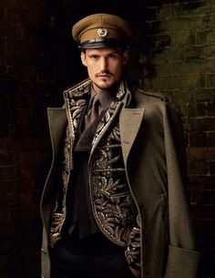 Steampunk Style | Vladisilaus Larous Nadine, Lead Engineer in Weapons Designs for the H.M.R. Ilustia. (His Majesties Regiment.)