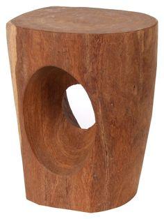 Pol's Potten   Wooden Stool   Handmade in Senegal   Sustainable Design