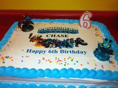 A Skylanders cake from our Facebook fan Ellen! Thanks for the submission! Use the hashtag #SkylandersCake and maybe we'll repin yours!
