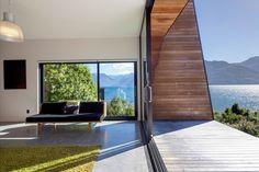 【スライドショー】ニュージーランド南東の大自然に抱かれた邸宅