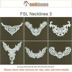 Disegni di 5 x 7 cerchio 10 FSL scollature 3 Free di embhome