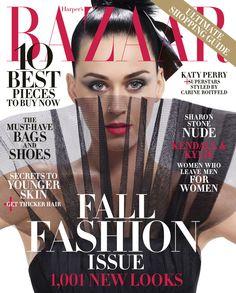 Katy Perry for Harper's BAZAAR US September 2015 cover