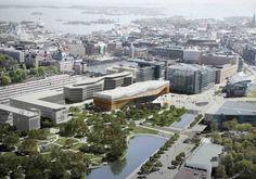 ALA Wins Helsinki Central Library Competition - eVolo | Architecture Magazine