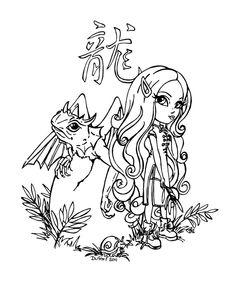 Chinese astrol. - Dragon by *JadeDragonne on deviantART