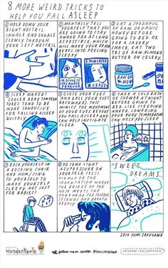 8 More Weird Tips to Help You Fall Asleep Faster « The Secret Yumiverse