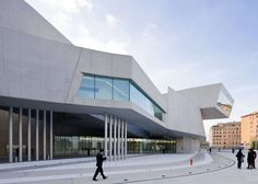 MAXXI supersedes the notion of the museum as 'object' or—presenting a field of buildings accessible to all, with no firm boundary between what is 'within' an...