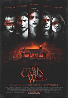 Horror Movie Posters, Best Horror Movies, Scary Movies, Film Posters, Great Movies, Halloween Movies, Into The Woods Movie, Cabin In The Woods, Love Movie