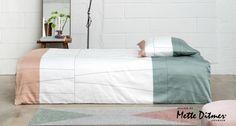 Mette Ditmer Verdi sengetøj i Frost Green