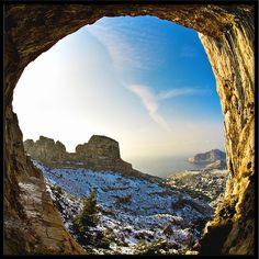 La Grotte de l'Ermite - Les Calanques - Marseille by Un Autre Monde by Fred PASCAL, via Flickr