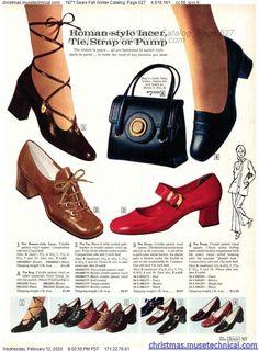 Shoes Ads, Retro Shoes, Vintage 1950s Dresses, Vintage Outfits, 70s Outfits, 70s Fashion, Vintage Fashion, Vintage Shoes Women, Evolution Of Fashion