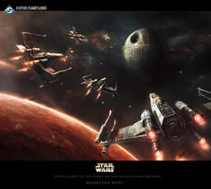 Promotional artwork for Star Wars - The Card Game by Fantasy Flight Games. Thanks for watching!