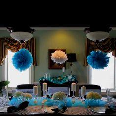 Bridal luncheon decorations!