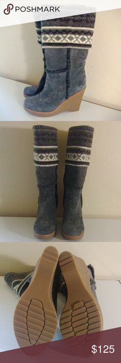Steve Madden Wedge Boot NWOT MEASUREMENTS: 4 Inch Heel   CONDITION: NWOT   CONCERNS: None   ~ Feel free to make an offer!!! ~ Steve Madden Shoes
