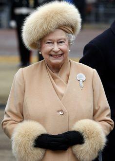 Queen/Königin Elizabeth von England