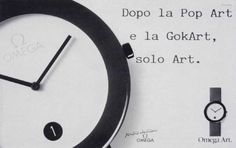 Read more: https://www.luerzersarchive.com/en/magazine/print-detail/omega-14557.html Omega After Pop Art and Go-cart only Art. Claim: Moments that count. Tags: Saatchi & Saatchi, Rome,COMMUNICATION DESIGN, Milan,Gea Casolaro,Mario Di Benedetto,Omega