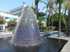 Una fontana  del Parco delle Nazioni. (foto Bruga)