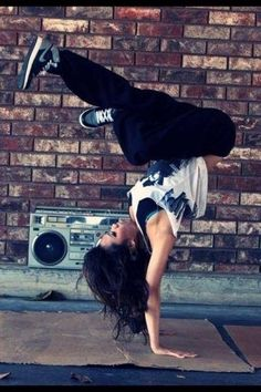 Hip Hop dancing!