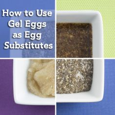 How to Use Gel Eggs as Egg Substitutes   Om Nom Ally