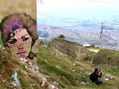 #stinkfish #colombia #streetart #graffiti #portrait