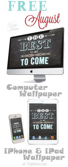 FREE Best is yet to Come Blackboard Wallpaper at @cheryl ng Sousan   Tidymom.net