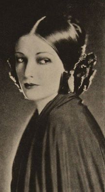 Natascha Rambova, 1923, photographed by James Abbe. She was an American silent film costume and set designer, artistic director, screenwriter, producer and occasional actress. Later in life she worked as a mildly successful fashion designer and Egyptologist. She is best known as the second wife of film star Rudolph Valentino.