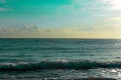 Fine Art Photograph Beach seascape ocean sky waves  by paulasantos, $10.00