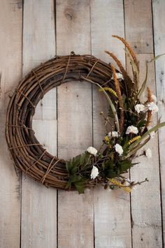 Fall Grapevine Wreath | this heart of mine