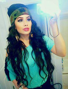 hair curls ahhhh :)