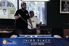 Aug 20, 2016 @ Cue Time, 3rd Place - Scott Ward