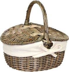 Antique Wash Double Lidded Oval Picnic Basket is at a great price. Shop no Visit  http://www.redhamper.co.uk/antique-wash-double-lidded-oval-picnic-basket-1/  #shoppingbaskets #shoppingbaskets