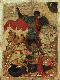 Early Christian, Christian Art, European History, Art History, Saint George And The Dragon, Orthodox Icons, Dark Ages, Religious Art, Byzantine
