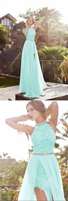 Beautiful Lace Long Prom Dresses 2016 US $58