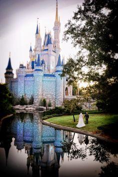 Disney Fairy Tale Wedding  :) - love this photo!!