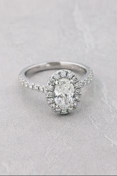 View our extensive selection of oval engagement rings