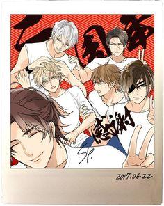 It's always been Ieyasu. Manhwa, Aarmau Fanart, Samurai Love Ballad Party, Brothers Conflict, Sengoku Basara, Cool Anime Guys, Manga Couple, Romance, Bishounen