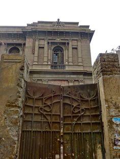 Abandoned Said Halim Pasha Palace - 'Champollion House' - in Egypt